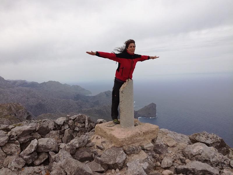 El Puig Roig 1003 m slm.