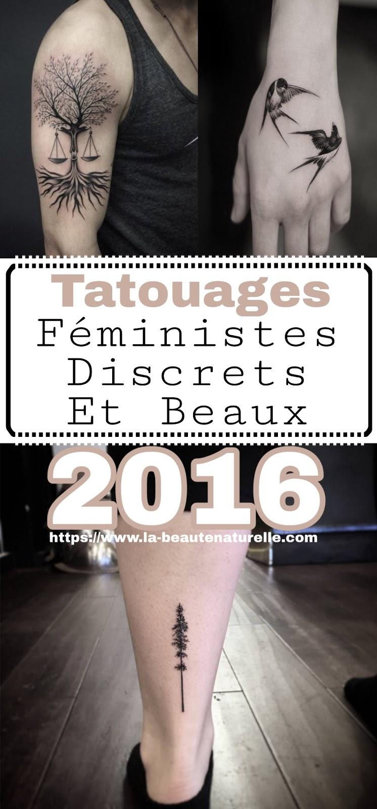 Tatouages Féministes Discrets Et Beaux 2016