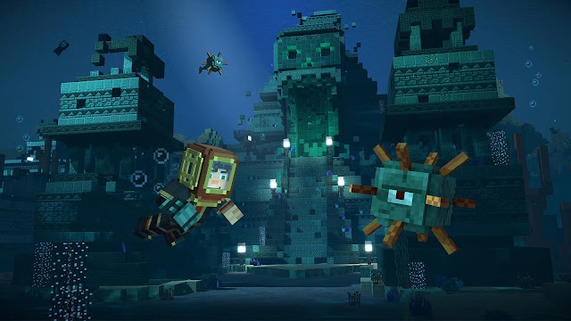 Screenshot Minecraft Story Mode