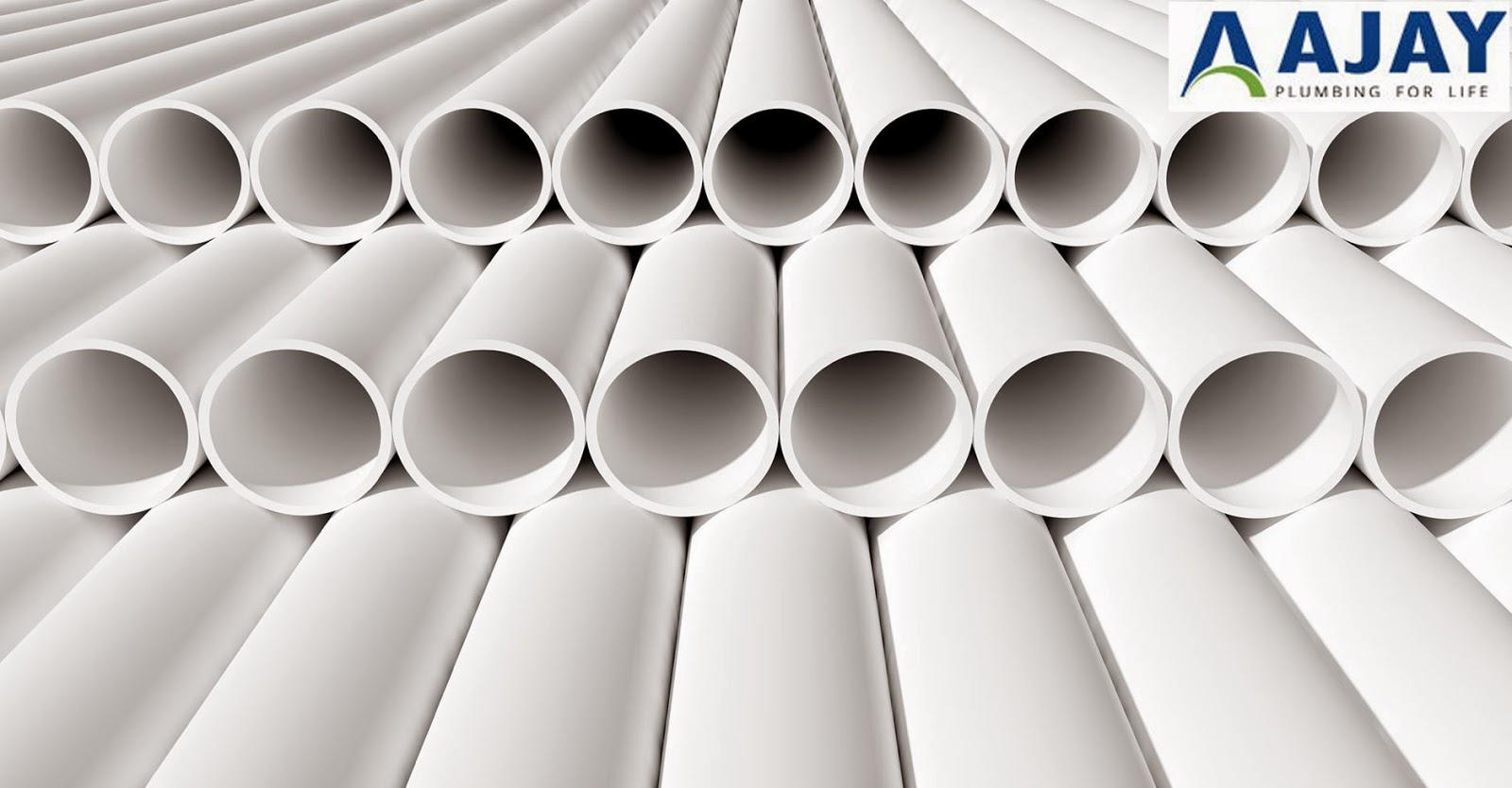 CPVC, PVC & UPVC Plastic Pipes & Fittings In India: Choose