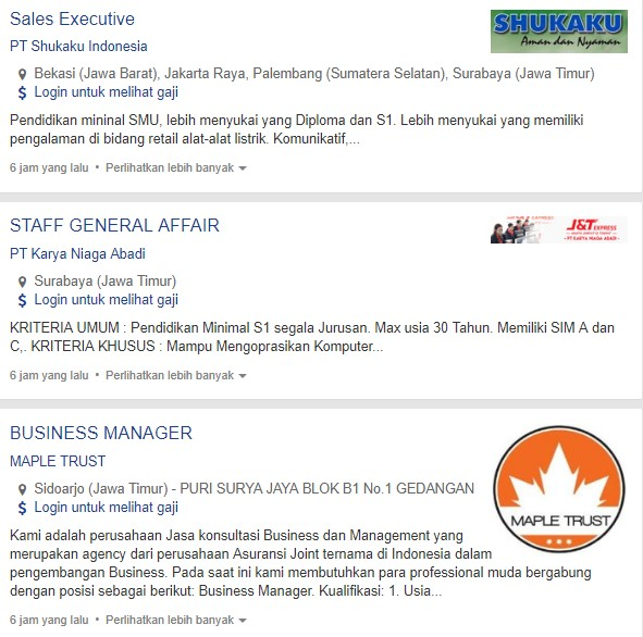 Terbaru - Lowongan Kerja PT Shukaku Indonesia 2020