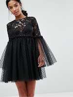 http://www.asos.com/asos-petite/asos-petite-lace-and-dobby-mesh-fluted-sleeve-mini-smock-dress/prd/8111320?CTARef=Bag%20Item%20Image