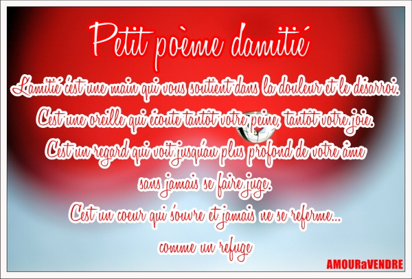 Les Meilleurs Sms Damour 2015 Poèmes Damitié Poème D