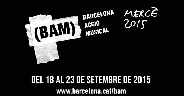 Programación completa y horarios del BAM Festival 2015