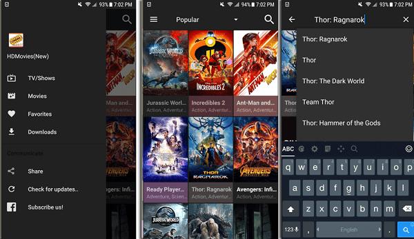 افضل تطبيق منافس Netflix لمشاهدة آخر الافلام مترجمة والمسلسلات بالمجان