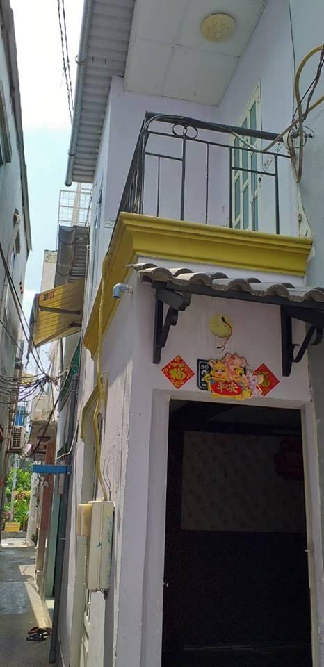Bán nhà hẻm 4m Phạm Thế Hiển phường 7 quận 8, ngay cầu Bà Tàng