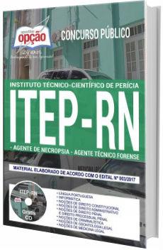 Apostila Concurso ITEP-RN 2017 Agente de Necropsia e Agente Técnico Forense