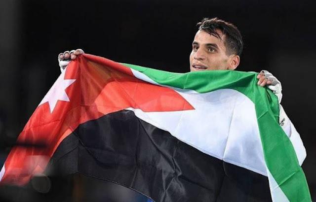 حتى الميدالية الوحيدة الذهبية للعرب في أولمبياد ريو 2016  للأردني أحمد أبو غوش حاولت اسرائيل سرقتها بهذا الطريقة ونسبها لنفسها !!