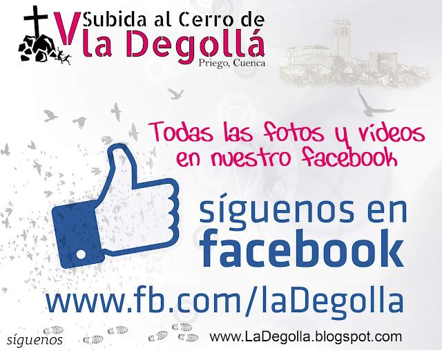 http://www.facebook.com/ladegolla