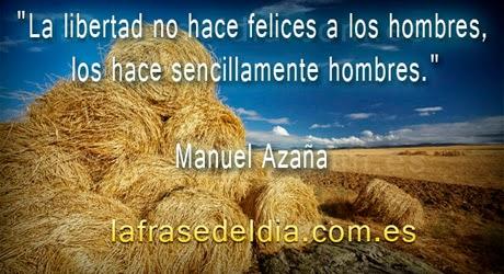 Mensajes de Manuel Azaña