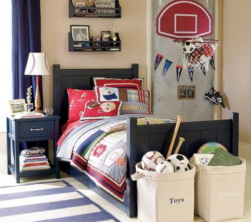 Boys Sports Bedroom Decorating Ideas