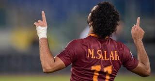 صلاح يتوج بلقب افضل لاعب في روما 2016