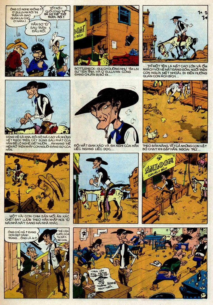 Lucky Luke tập 25 - nhện chân dài trang 17