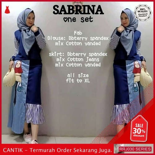 Jual RRJ030S164 Set Babyterry Sabrina Wanita Set Mc Terbaru BMGShop