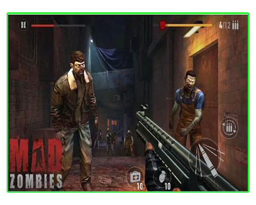 لعبة MAD ZOMBIES The Dead
