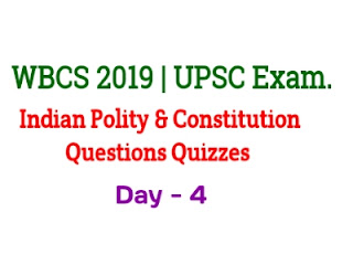 UPSC Indian Polity And Constitution Questions