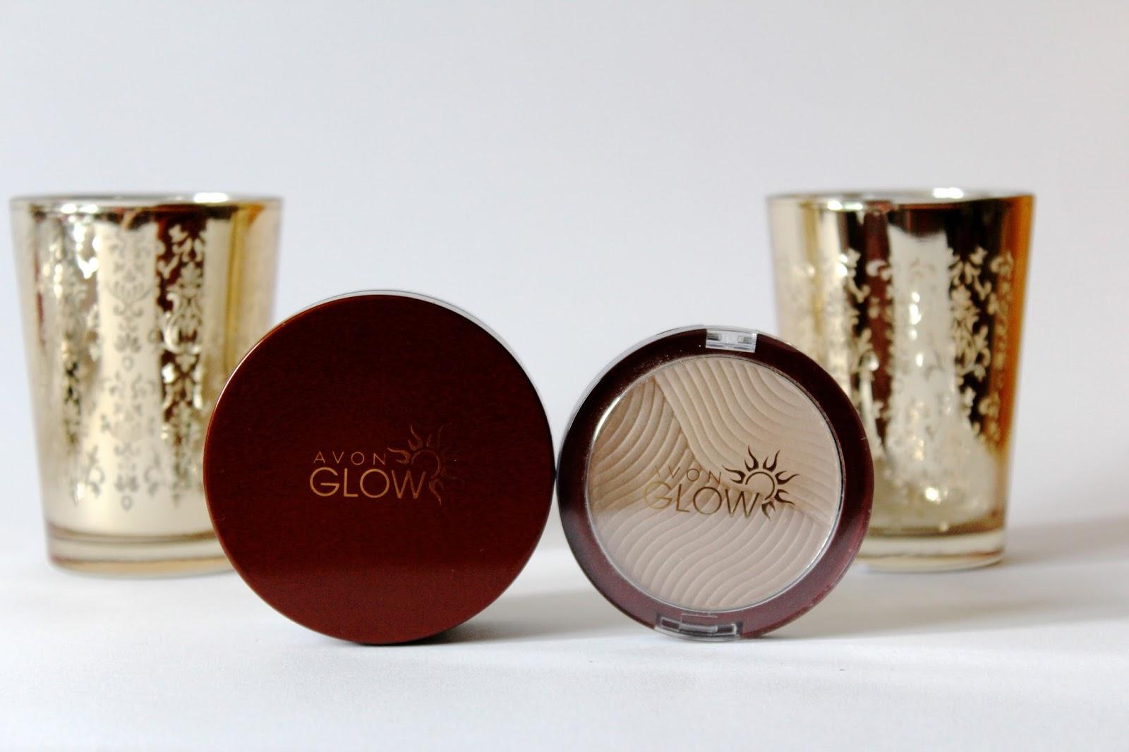Avon duo bronzer/iluminator i bronzane kuglice