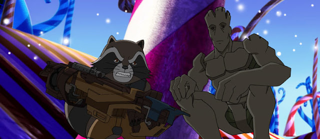 Guardians of the Galaxy Marvel Animation animatedfilmreviews.filmiinspector.com