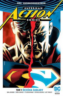 Action Comics tom 1: Ścieżka zagłady okładka
