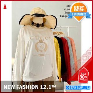 SUP1182A22 Atasan Kaos Wanita Bahan Kaos Import BMGShop