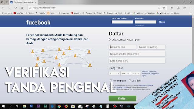 Cara ini bisa kamu coba dalam mengonfirmasi verifikasi tanda pengenal akun Facebook.