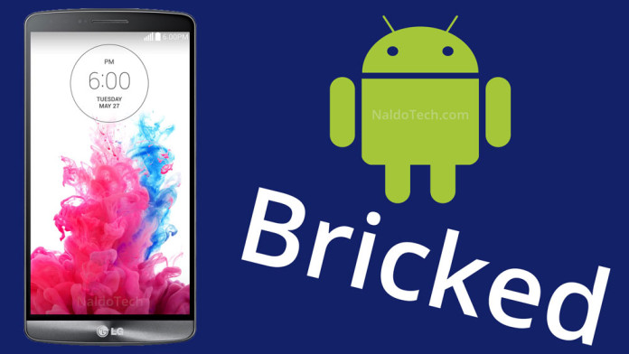Fix Bricked Android: How to Fix Bricked LG Mobile