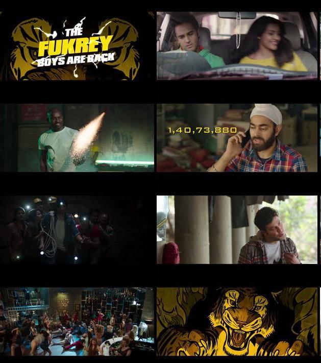 Fukrey Returns Official Trailer 720p HD Download