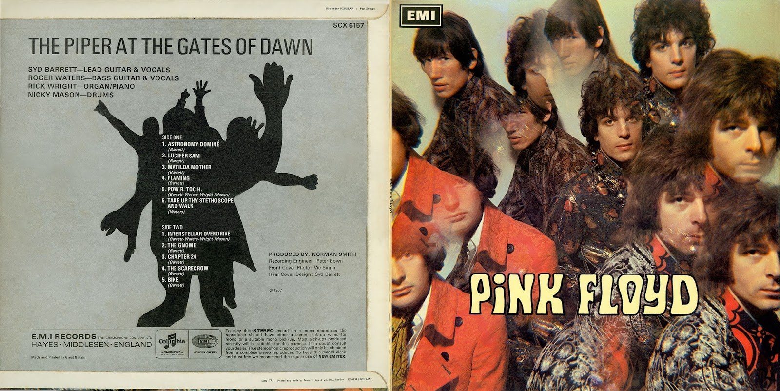 pink floyd ilustrado 1967 the piper at the gates of dawn. Black Bedroom Furniture Sets. Home Design Ideas