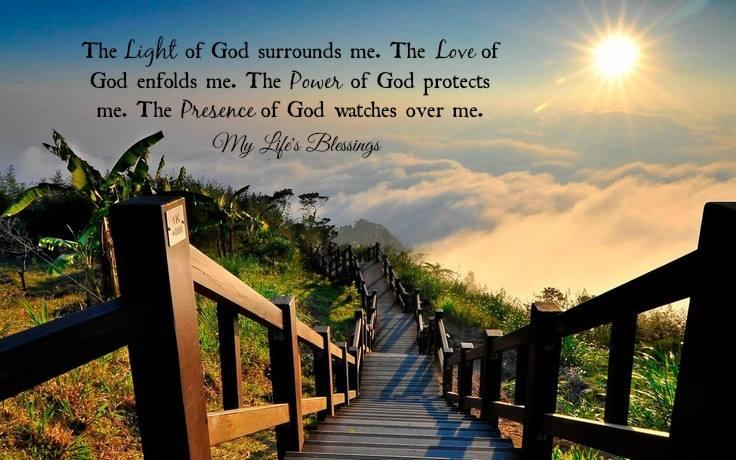 The Love of God enfolds me