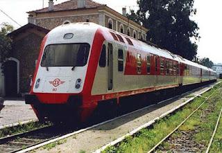 Αποτέλεσμα εικόνας για τρένο στα Γιαννιτσά