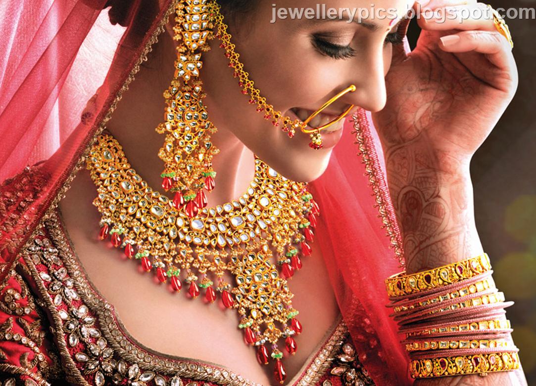 North Indian bridal jewellery - Latest Jewellery Designs