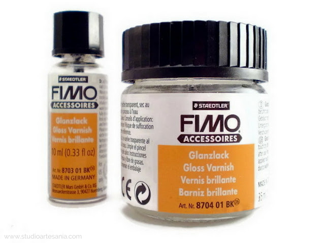 How to use Fimo varnish on polymer clay