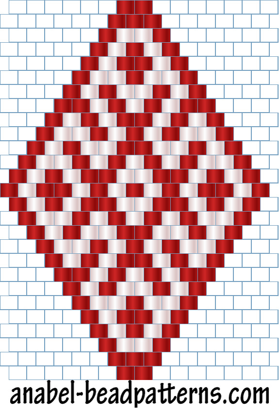 Плетение мозаикой основы бисероплетения – бисерок.