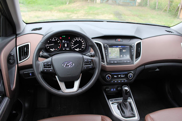 Hyundai Creta Prestige 2.0 Automático 2018 - painel