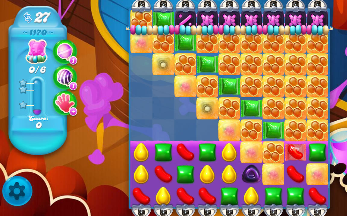 Candy Crush Soda Saga level 1170