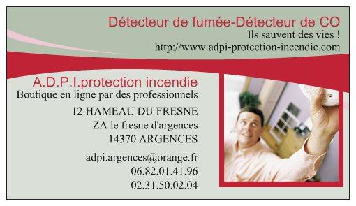 A d p i protection incendie - Detecteur de fumee obligation ...