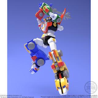 Bandai Shogukan Super Mini-Pla Voltron