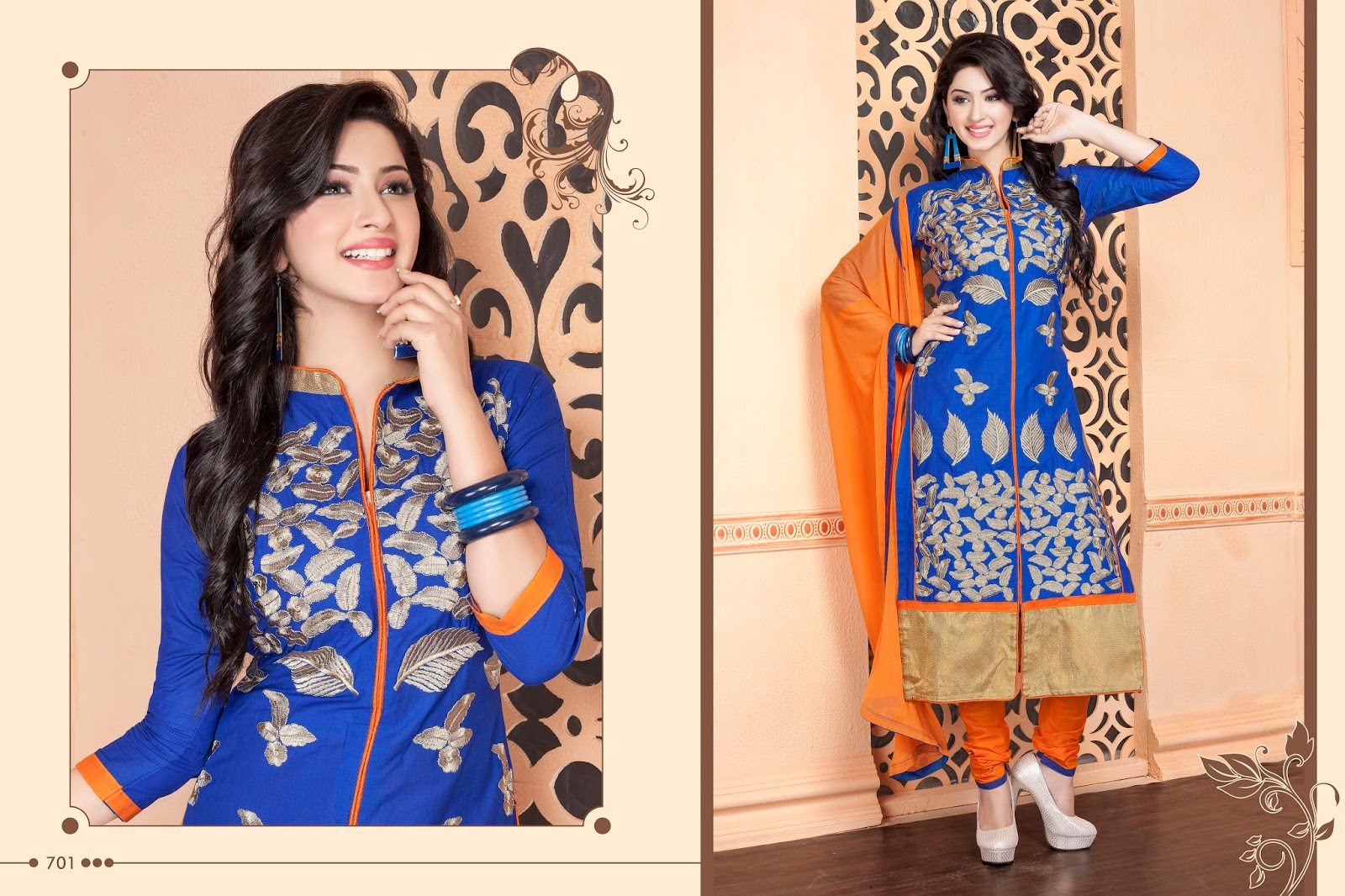 Mastani – Pure Cambric Cotton Embroidered Salwar Suit