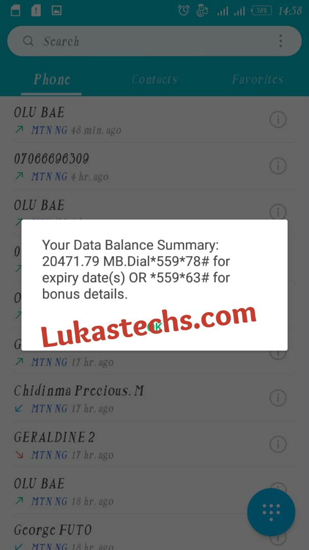 How to Get 5GB for N50, 10GB for N100, 20GB for N200 on MTN