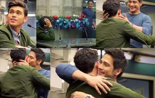 Viral: Piolo Pascual and His Son Iñigo Kissed Lips to Lips! Watch Here!