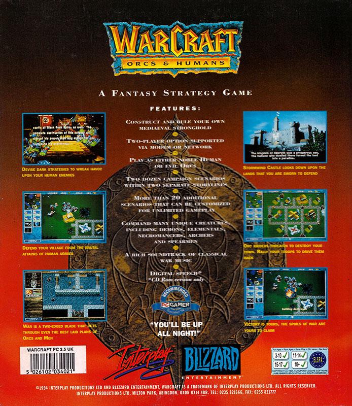 Warcraft Orcs & Humans Caja 2