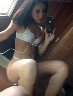 Fotos amadoras da Franciele de Goias vazou na web quando seu celular foi roubado
