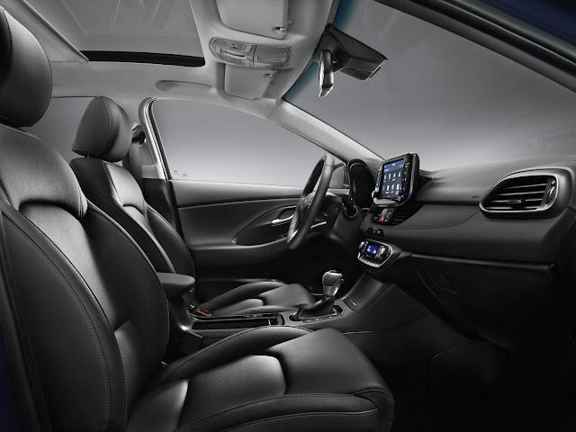 Novo Hyundai i30 2017 - interior