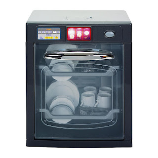 A 14 inch Kenmore play dish washer for your play kitchen.