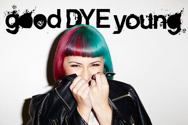 Hayley Williams GoodDYEYoung coloration hair cheveux