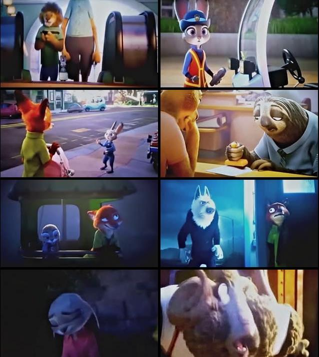 Zootopia 2016 English HDTS x264 550mb