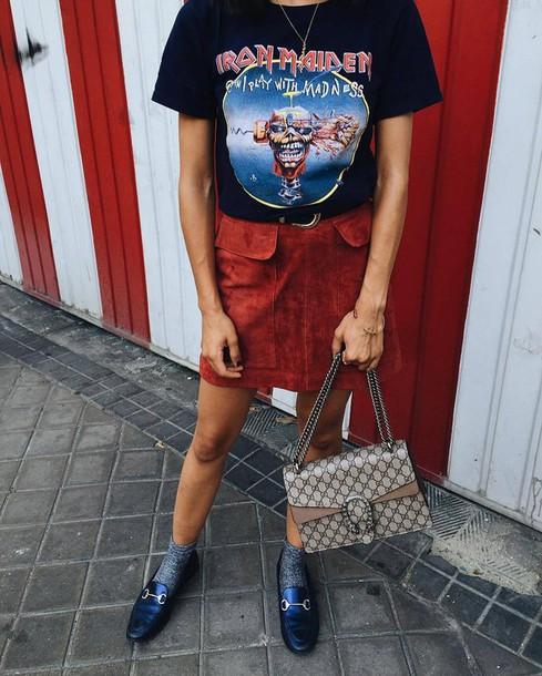 come abbinare la band t-shirt abbinamenti band t-shirt band t-shirt how to wear band t-shirt band t-shirt outfits tendenza band t-shirt tendenze primavera-estate 2017 band t-shirt spring summer trend