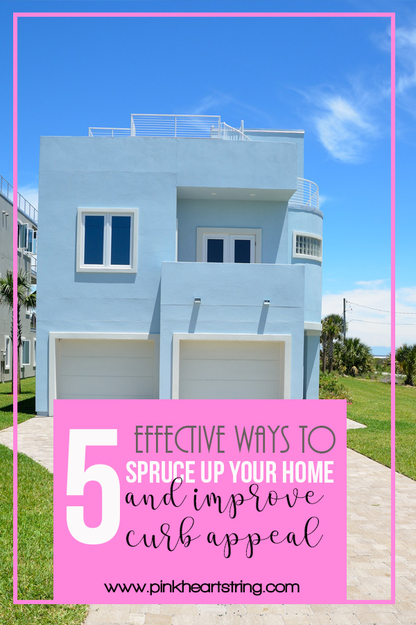 tips on how to impove a home's curb appeal
