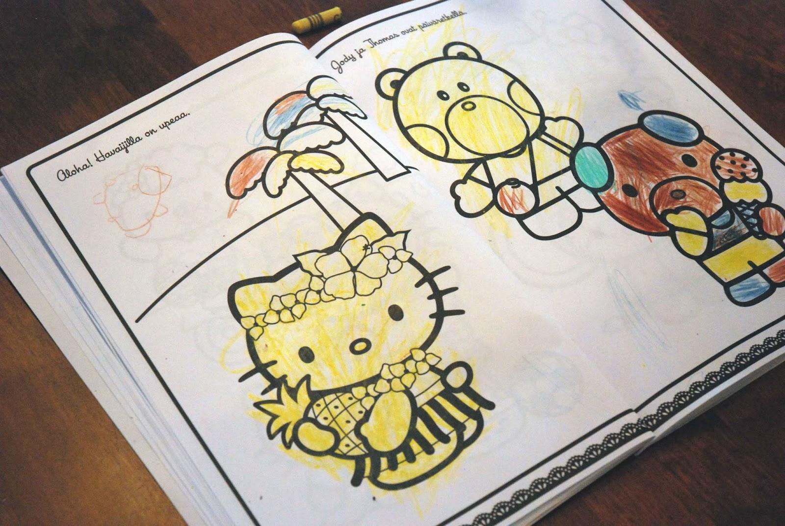 värityskirja aikuisille citymarket