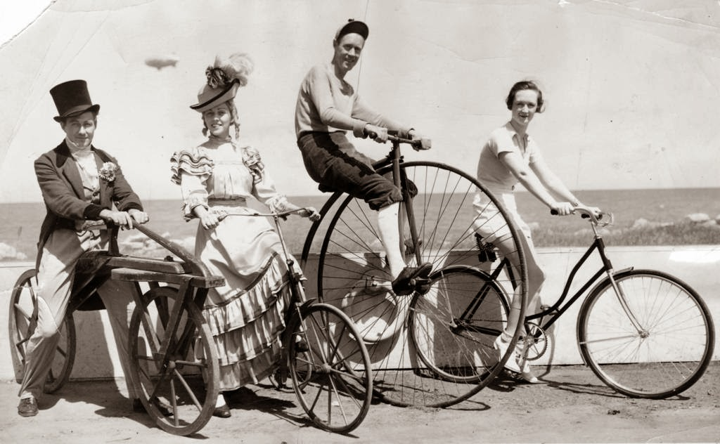Vintage Photos Of Chicago S Cycling Craze Vintage Everyday